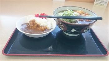 かき揚げ蕎麦ミニカレーライスセット750円 (1).JPG